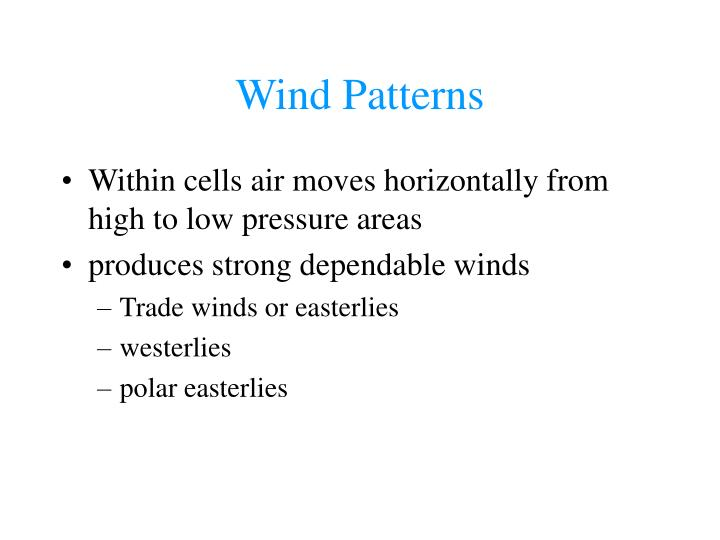 Wind Patterns