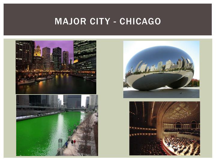Major City - Chicago