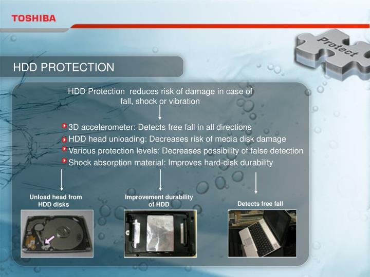 HDD PROTECTION