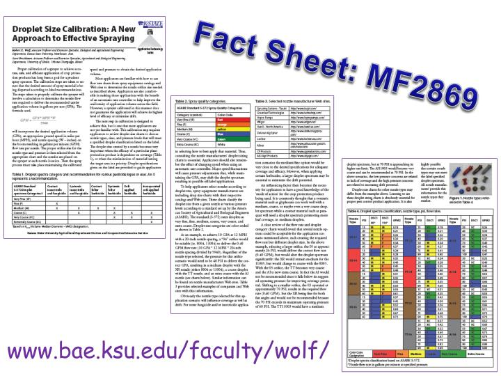 Fact Sheet: MF2869