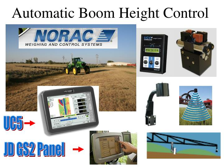 Automatic Boom Height Control