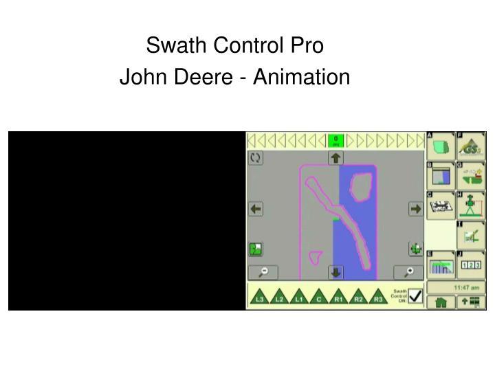 Swath Control Pro