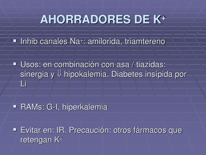 AHORRADORES DE K