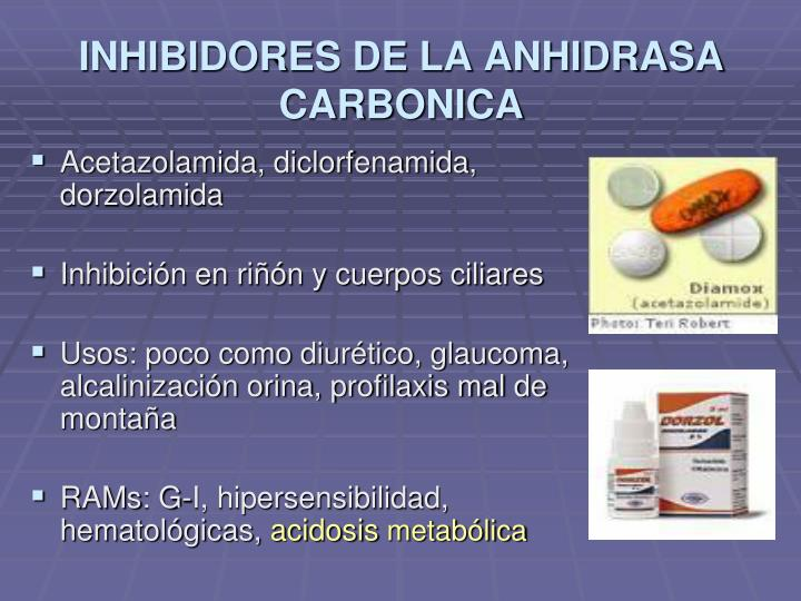 Acetazolamida