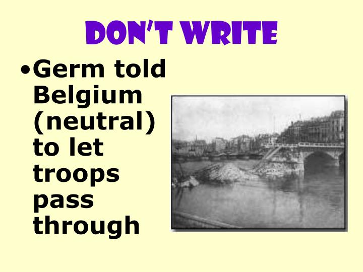 DON'T WRITE