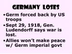 germany loses