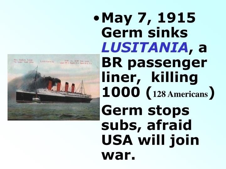 May 7, 1915 Germ sinks