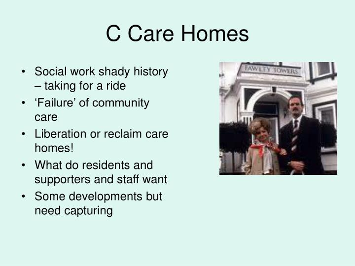 Social work shady history – taking for a ride