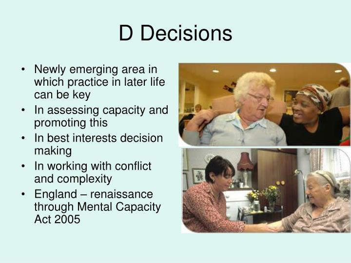 Newly emerging area in which practice in later life can be key