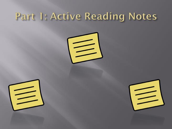 how to create active reading notes Tools for teaching: developing active readers by rebecca alber may 13, 2013  here are a handful of really great strategies to build those active reading skills: 1.