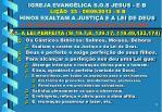 igreja evang lica s o s jesus e b li o 23 09 09 2013 e b hinos exaltam a justi a e a lei de deus11
