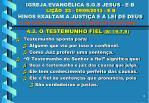 igreja evang lica s o s jesus e b li o 23 09 09 2013 e b hinos exaltam a justi a e a lei de deus12