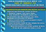 igreja evang lica s o s jesus e b li o 23 09 09 2013 e b hinos exaltam a justi a e a lei de deus13