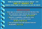 igreja evang lica s o s jesus e b li o 23 09 09 2013 e b hinos exaltam a justi a e a lei de deus14