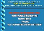 igreja evang lica s o s jesus e b li o 23 09 09 2013 e b hinos exaltam a justi a e a lei de deus15