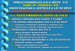 igreja evang lica s o s jesus e b li o 23 09 09 2013 e b hinos exaltam a justi a e a lei de deus2