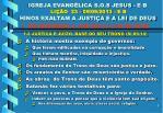 igreja evang lica s o s jesus e b li o 23 09 09 2013 e b hinos exaltam a justi a e a lei de deus3