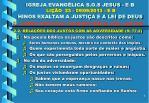 igreja evang lica s o s jesus e b li o 23 09 09 2013 e b hinos exaltam a justi a e a lei de deus6