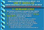 igreja evang lica s o s jesus e b li o 23 09 09 2013 e b hinos exaltam a justi a e a lei de deus8