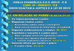 igreja evang lica s o s jesus e b li o 23 09 09 2013 e b hinos exaltam a justi a e a lei de deus9