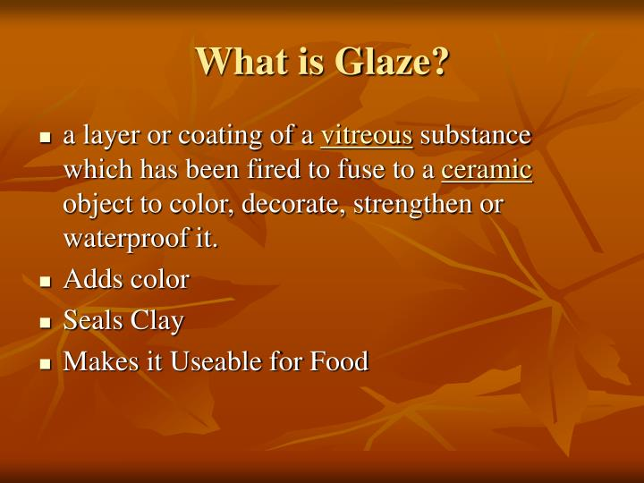 What is Glaze?