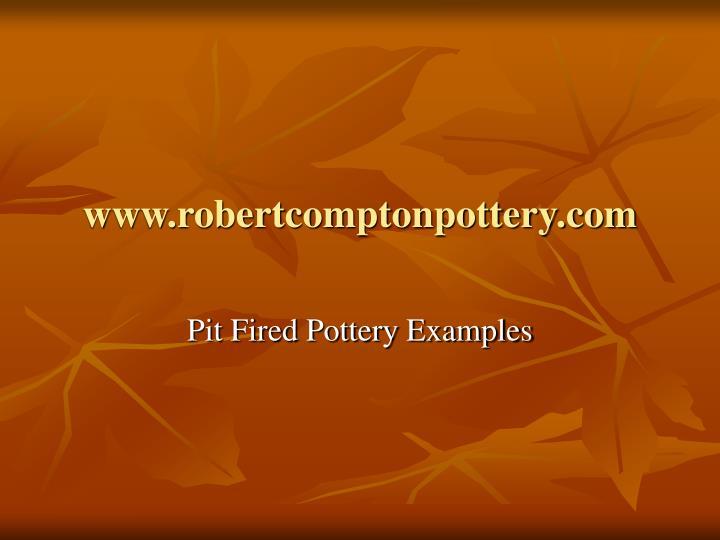 www.robertcomptonpottery.com