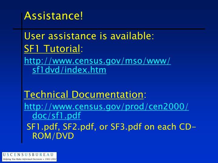 Assistance!