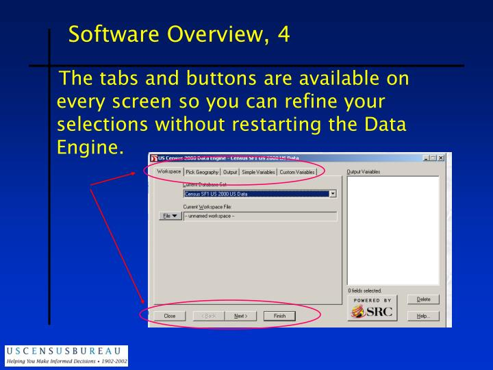 Software Overview, 4