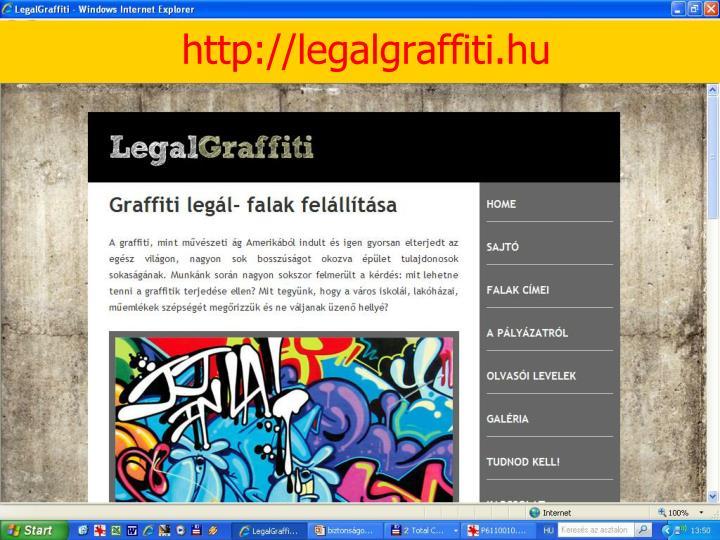 Graffiti-tevékenység 3.