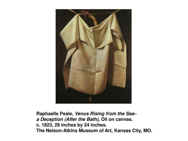 Raphaelle Peale,