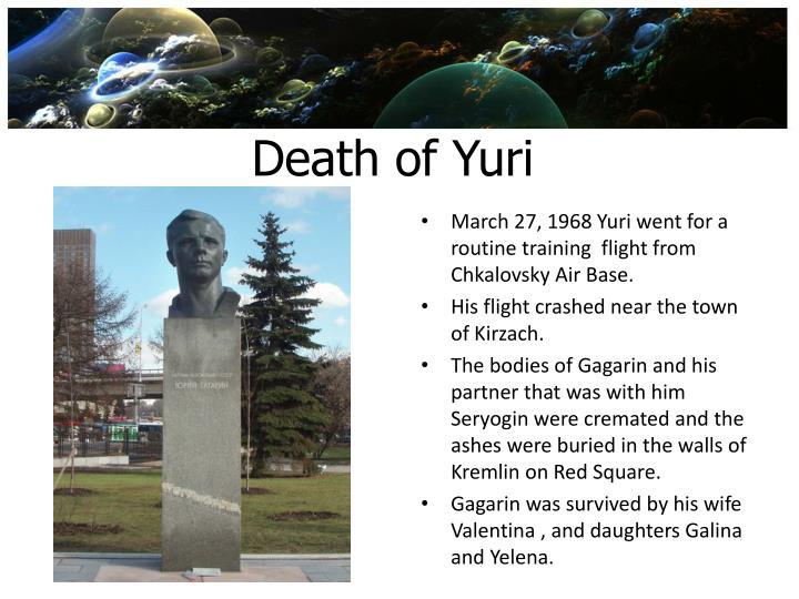Death of Yuri