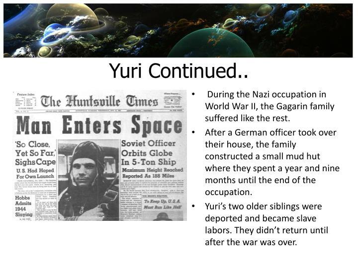 Yuri Continued..