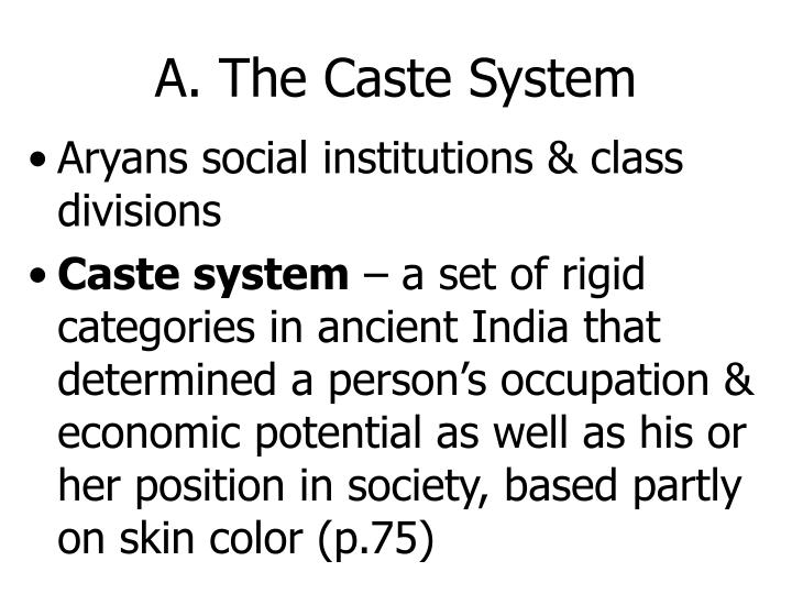 A. The Caste System