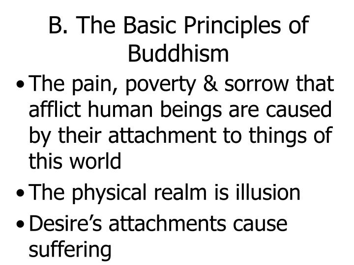 B. The Basic Principles of Buddhism