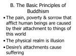 b the basic principles of buddhism