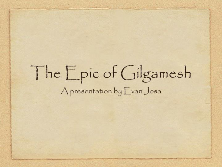 an analysis of gendered archetypes in the epic of gilgamesh