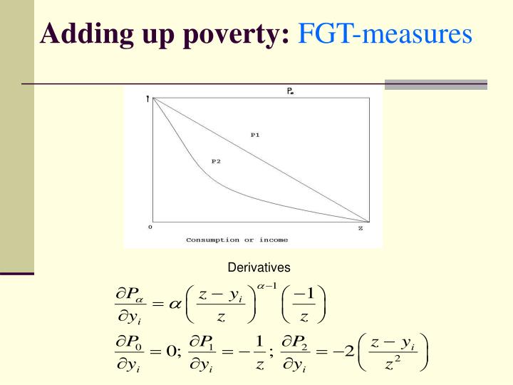 Adding up poverty: