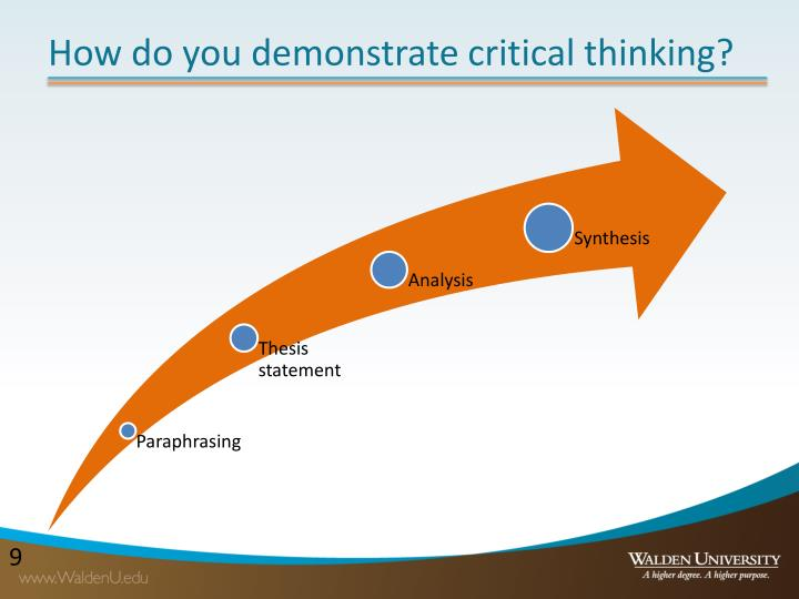 what is critical thinking and what characteristics do critical thinkers demonstrate Critical reading, critical thinking and your assessment tasks   you will be  producing work which is equivalent to the first year of a degree  critical thinkers  rigorously question ideas and assumptions rather than  the skills you need to  demonstrate critical  evaluate these characteristics using a range of sources to  help.