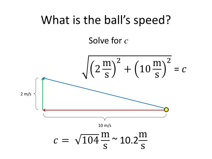 What is the ball's