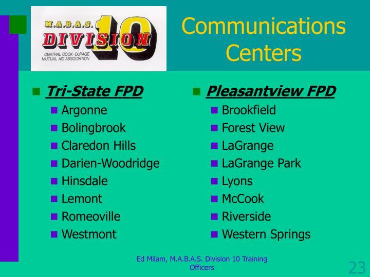 Tri-State FPD