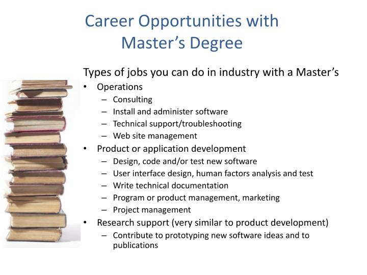 Career Opportunities with