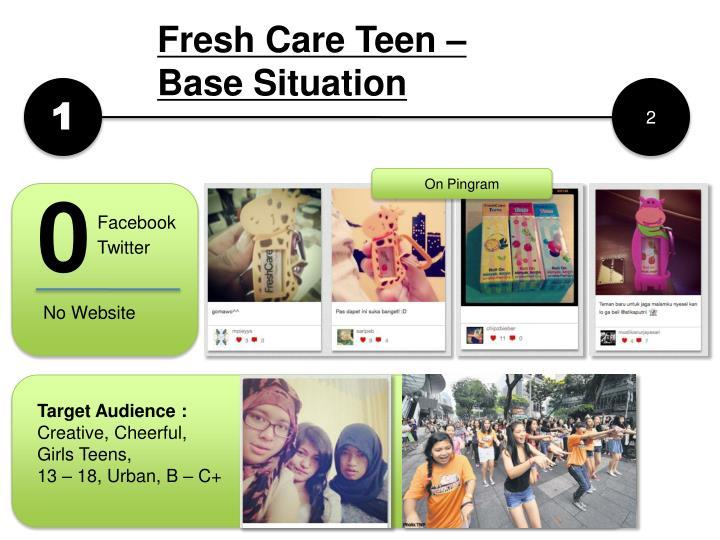 Fresh Care Teen –