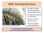 dmz demilitarized zone