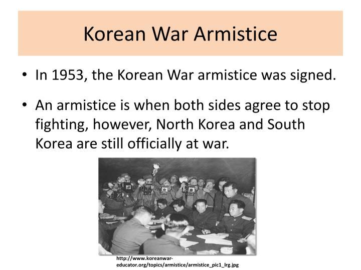 Korean War Armistice