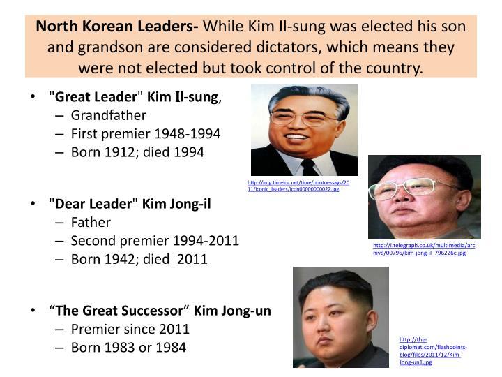 North Korean Leaders-