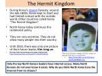 the hermit kingdom