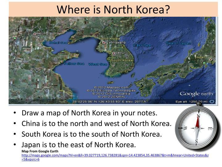 Where is North Korea?