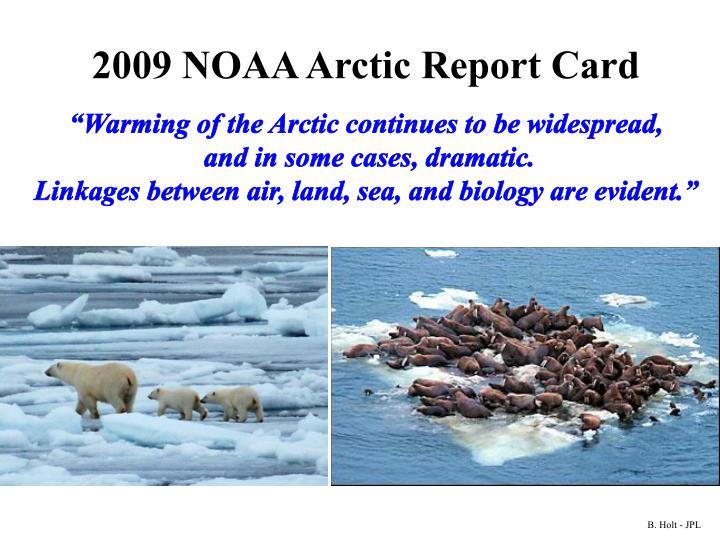 2009 NOAA Arctic Report Card