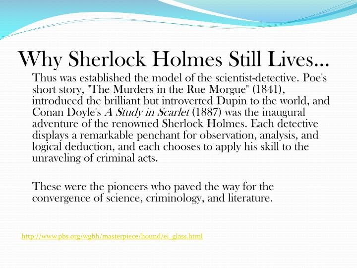 an analysis of sir arthur conan doyles influence on twentieth century detective literature He is academic director of the arthur conan doyle collection, lancelyn green bequest, and is currently working on a monograph on later twentieth century tv detective fictions cambridge scholars publishing | registration number: 04333775.