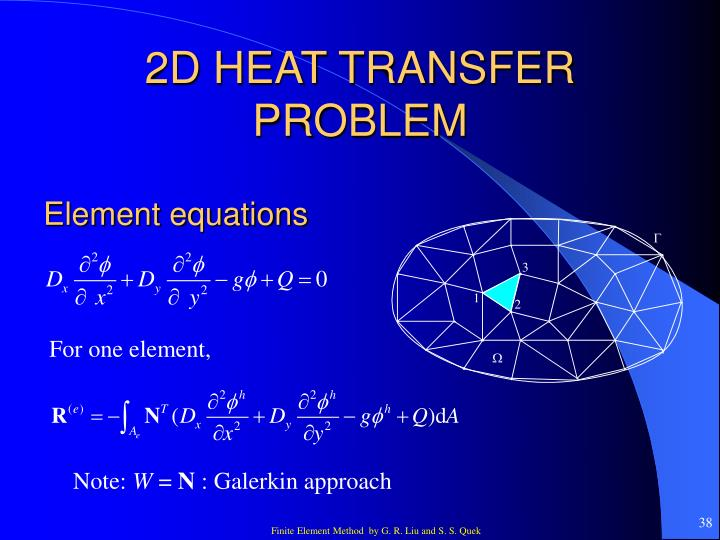 2D HEAT TRANSFER PROBLEM